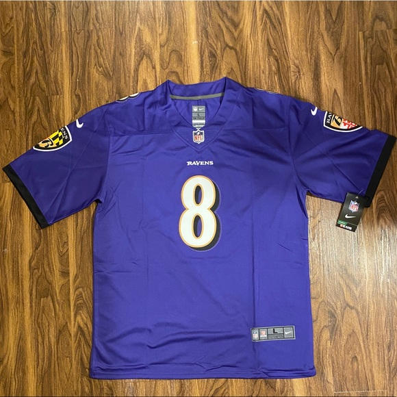 Lamar Jackson Baltimore Ravens Nike Limited Jersey